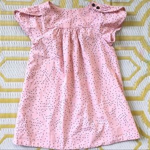 Hanna Dress Light Cotton Pink Petal Sleeves 110